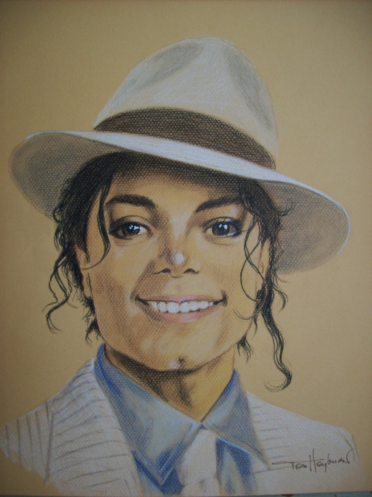 Michael Jackson by Tom-Heyburn